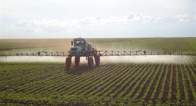 Agro-toxins being spread